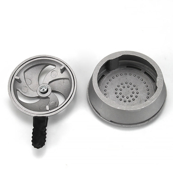 Smoking Charcoal Stove Holder Frosted for Tobacco Hookah